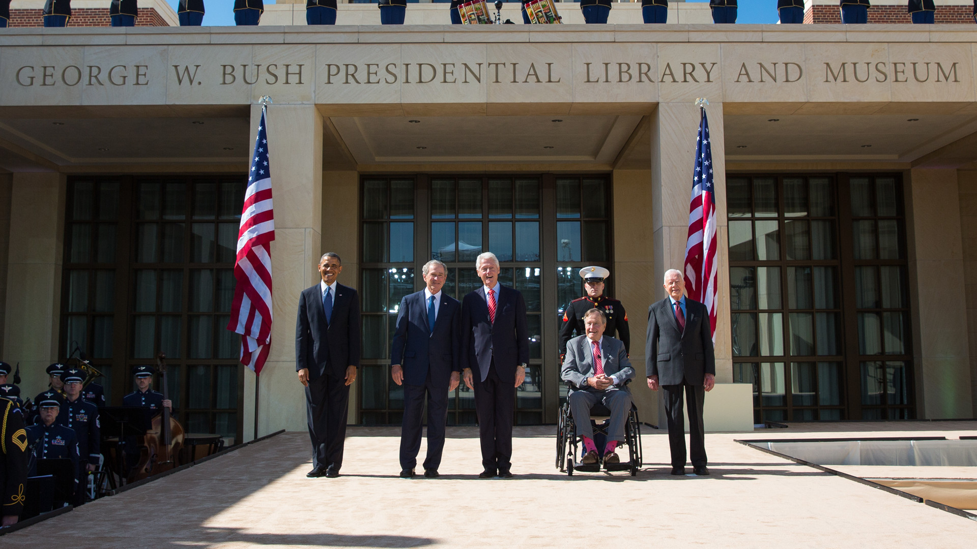 George W. Bush Presidential Library Opening