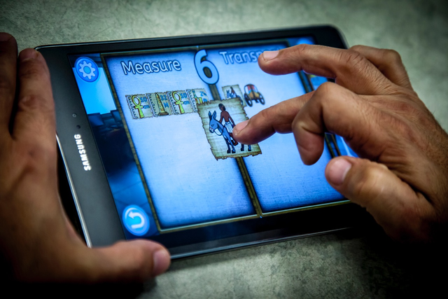 Codex game on a tablet
