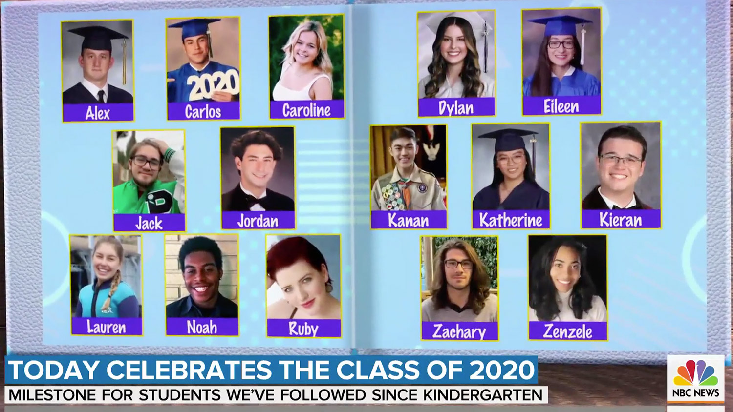 Today Show Class 2020