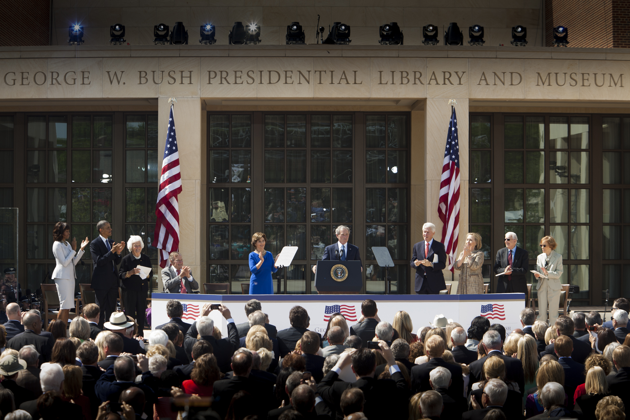 Bush Center Dedication