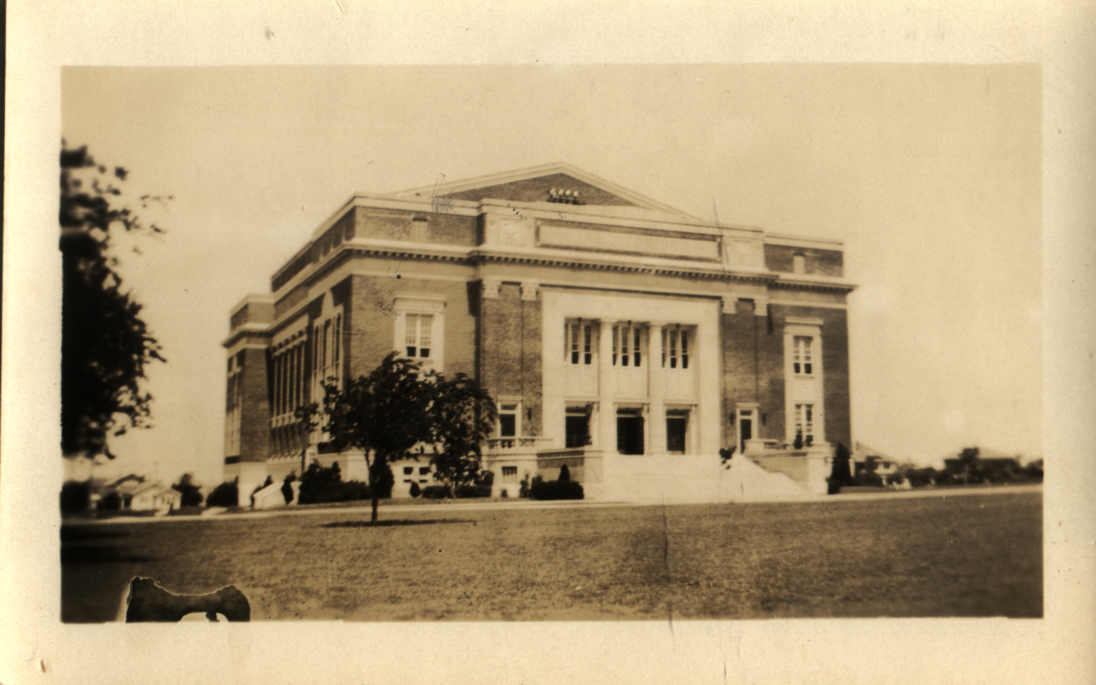 McFarlin Auditorium in 1917