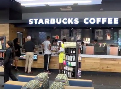 Mustang Minute featuring the new Starbucks in Fondren Library