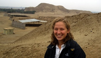 Fulbright Fellow Kylie Quave in Peru