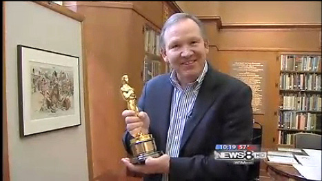 Gary Cogill of WFAA News reports on SMU's Academy Awards collections