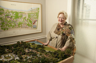 Arboretum President and CEO Mary Brinegar '69, who holds an elementary education degree from SMU.