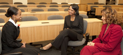 Condoleeza Rice at SMU on 14 April 2009
