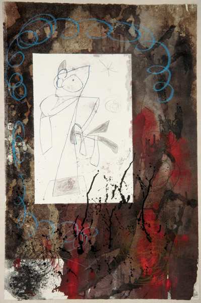 Joan Miro - Homage to Pollock