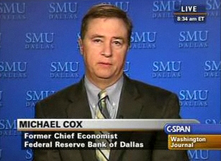 Michael Cox on CSPAN's Washington Journal