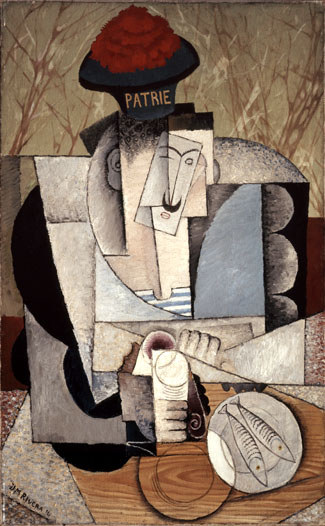 Sailor at Lunch by Diego Rivera