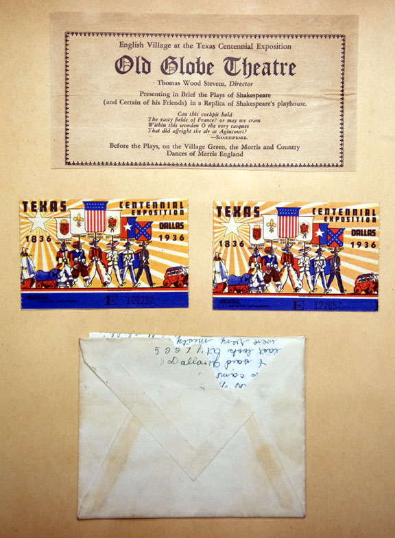 State Fair of Texas scrapbook 1936
