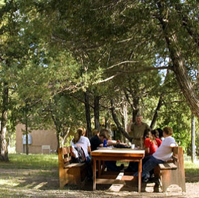 Students at SMU's Taos Campus