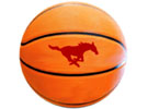 Basketball with Mustang Logo