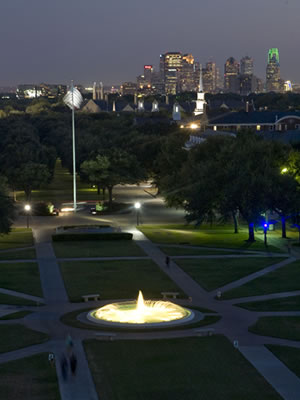Dallas Skyline from SMU