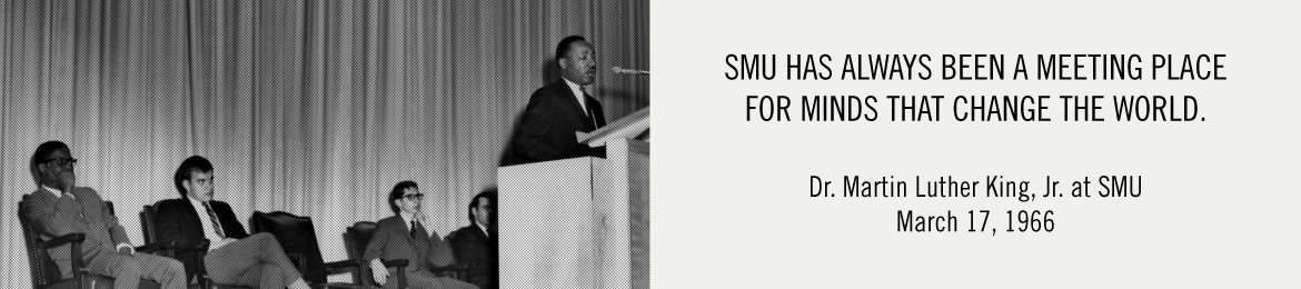 Dr. Martin Luther King, Jr. at SMU, March 17, 1966