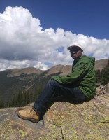 Hilltop Scholar Program Faculty: Albert Mitugo, pictured in the mountains at Taos, New Mexico; SMU Outdoor Adventures, Leadership Coach for Lead@SMU