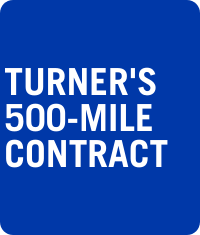 Turner's 500-Mile Contract