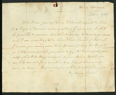letter to mary wesley