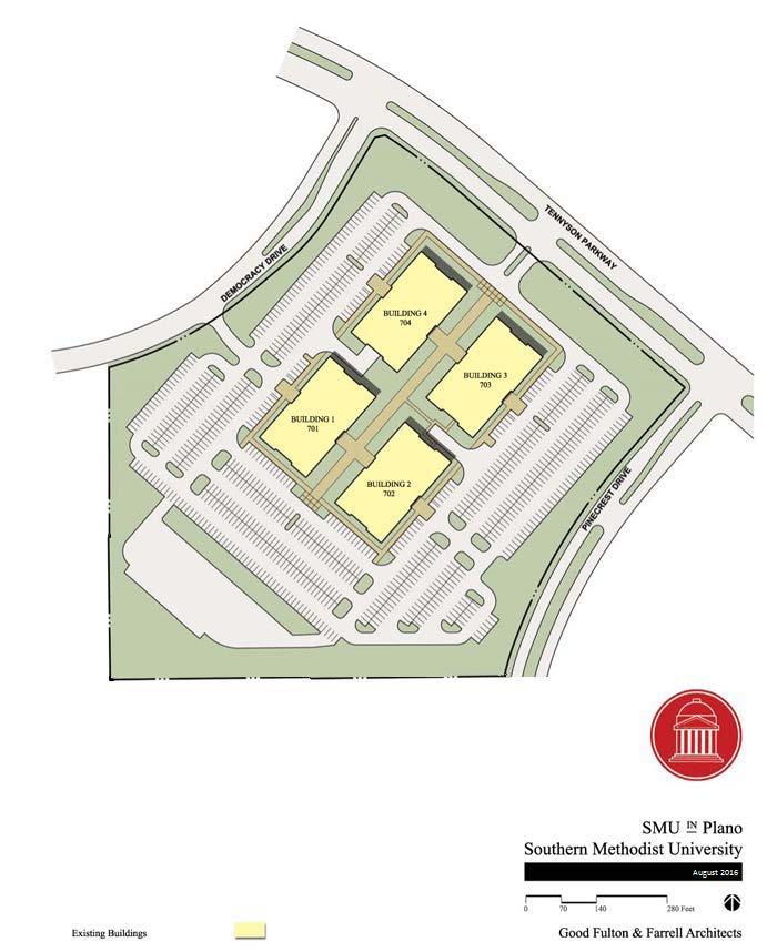 smu plano campus map Plano Campus Master Plan Smu Southern Methodist University