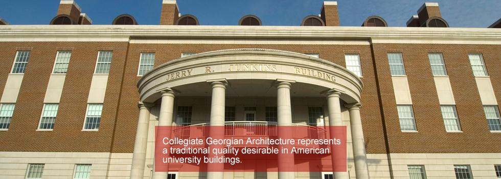 collegiate georgian architecture smu
