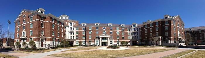 Picture of exterior of Armstrong Commons