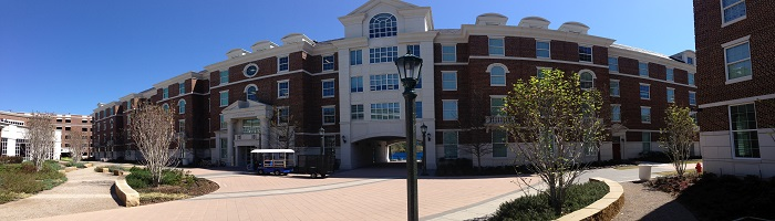 Picture of exterior of Loyd Commons