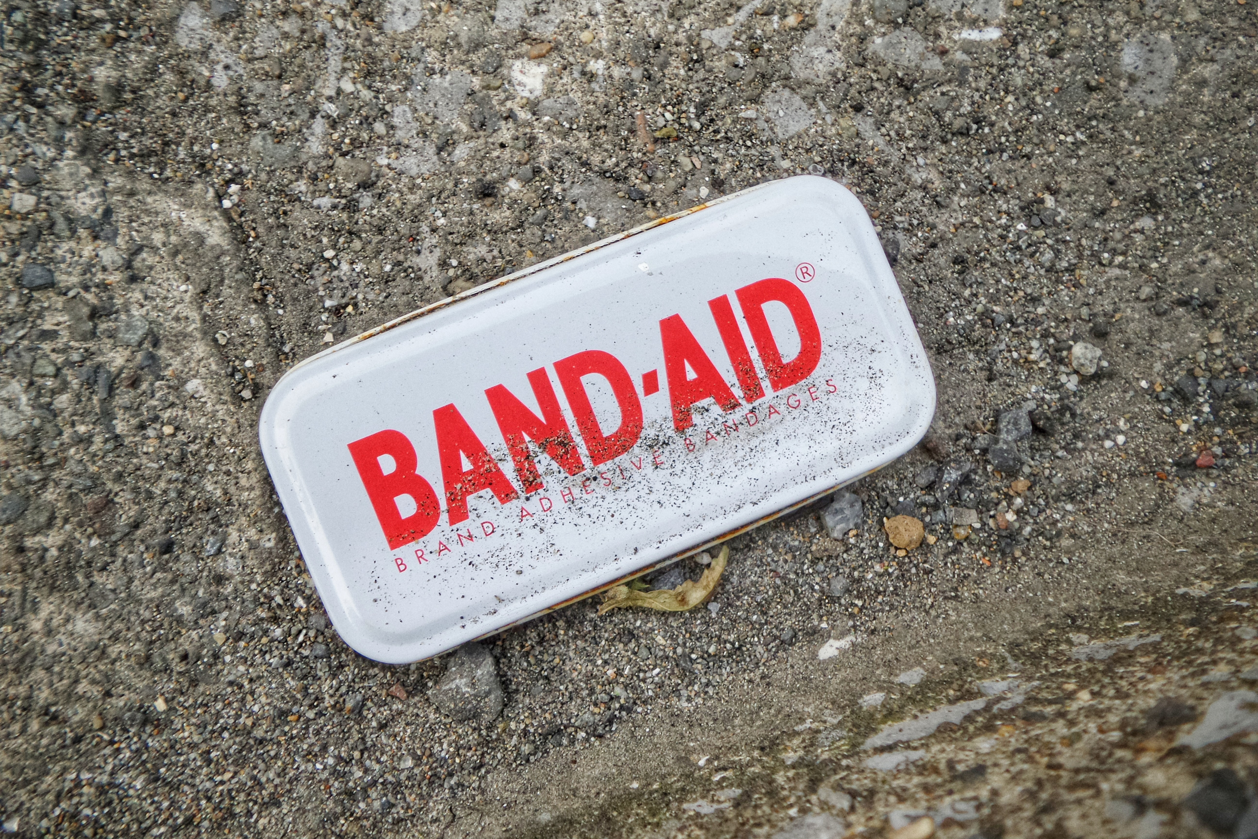 Picture of the words band-aid