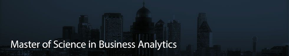 Master of Science in Business Analytics