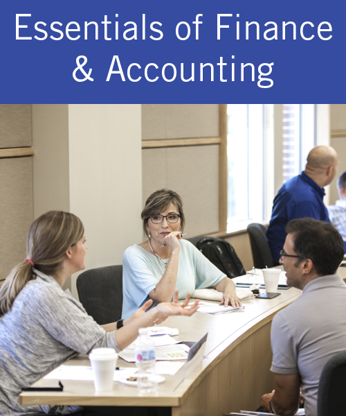 Essentials of Finance & Accounting