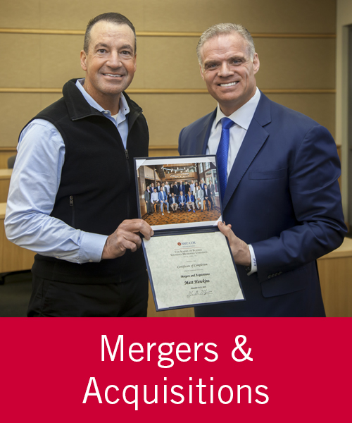 Mergers & Acquisitions - Matt Hawkins