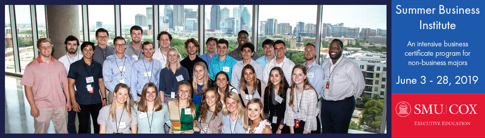 2016 Summer Business Institute