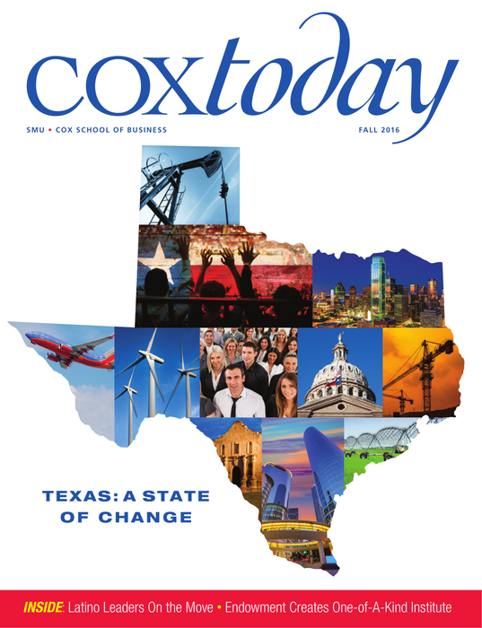 Cox Today, Spring 2016 Cover