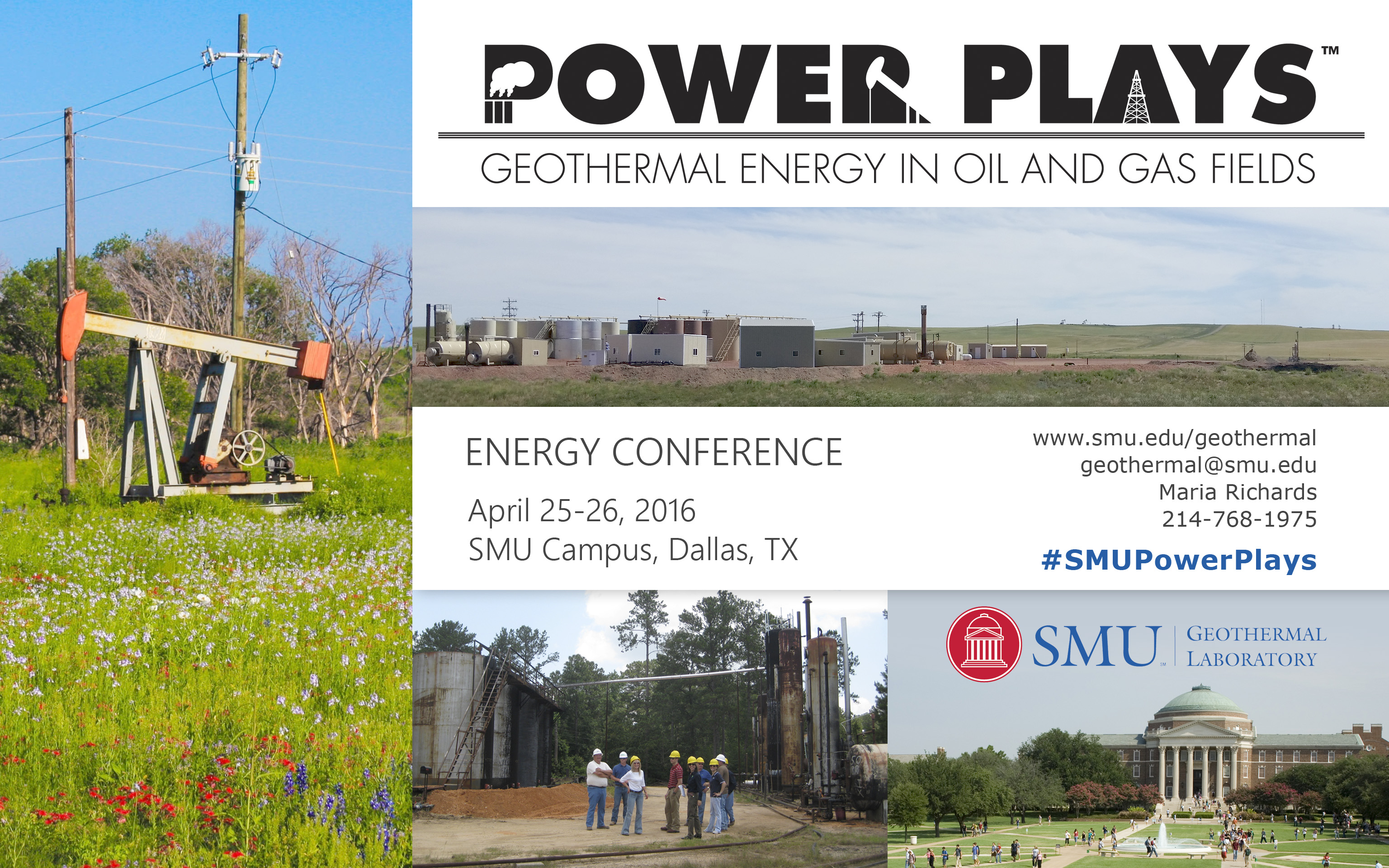 SMU 2016 Power Plays postcard