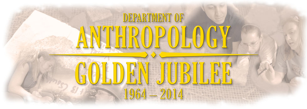 Department of Anthropology Golden Jubilee