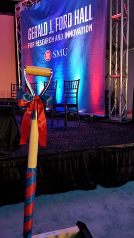 SMU Ford Hall Ground Breaking
