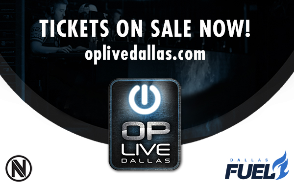 OP Live Dallas partners with Team Envy and Dallas Fuel — Tickets on Sale Now!