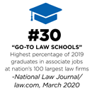 #30 Go-To Law Schools