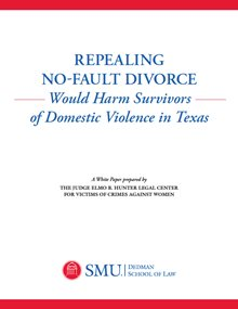 Repealing No Fault Divorce White Paper