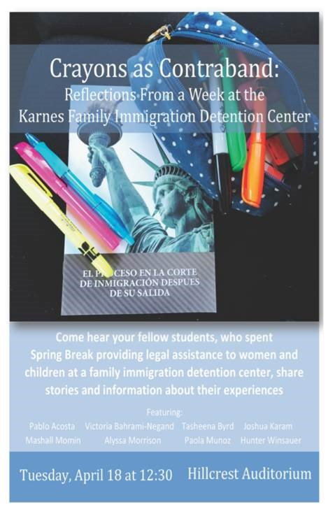 Crayons as Contraband: Karnes Detention Center