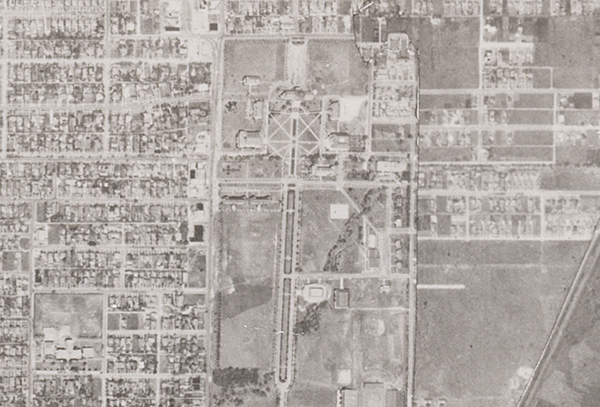 Dallas Aerial Photographs, 1945 USDA Survey