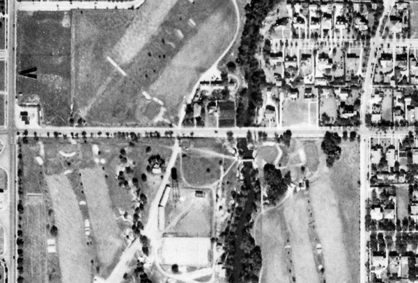 Dallas Historic Aerial Photographs, 1930 Fairchild Survey