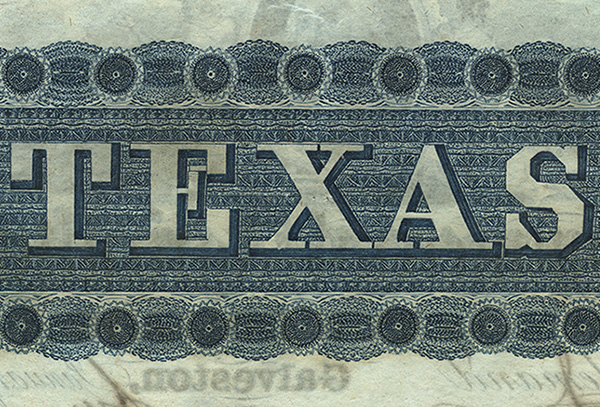 Rowe-Barr Collection of Texas Currency
