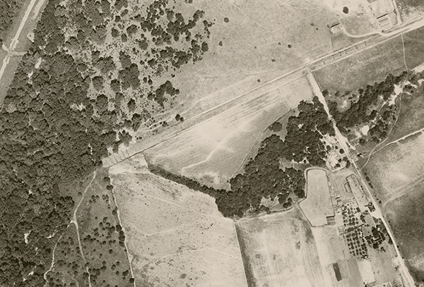 White Rock Lake Aerial Photographs, 1927 Fairchild Survey