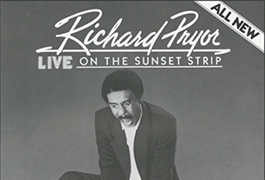 [Richard Pryor live on the Sunset Strip press book], 1982