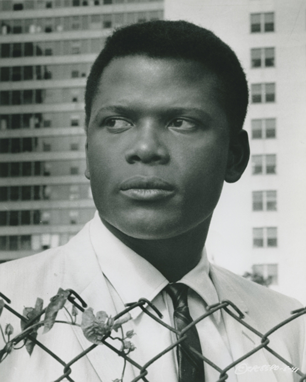 Sidney Poitier in Raisin in the Sun.