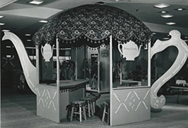 British Tea Room, 1967 Fortnight