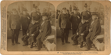 President McKinley and Maj.-Gens. Wheeler, Lawton, Shafter and Kiefer.