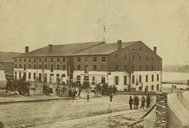 [Libby Prison, Richmond, Virginia. April, 1865. Plate No. 89]