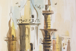 A sketch from India; Sketchbook 94, 1958