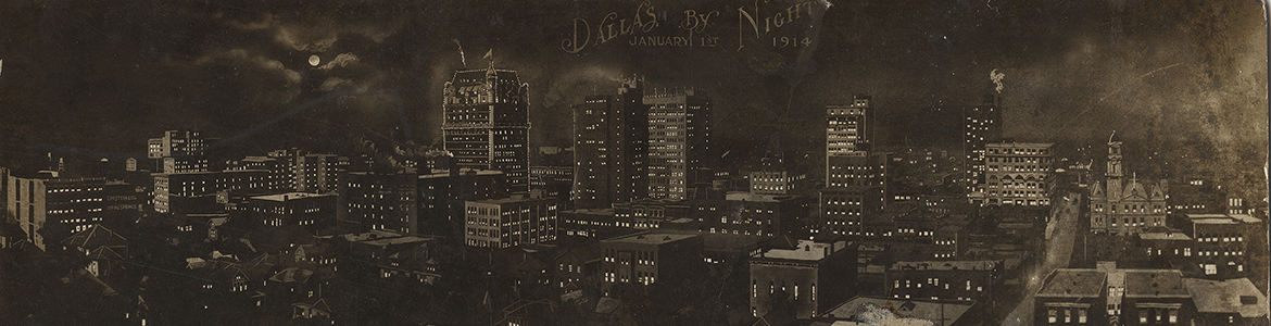 Dallas by Night, January 1st, 1914