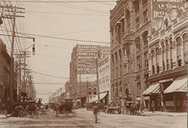 [Main Street from the Main and Martin Street Intersection], ca. 1900